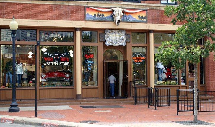 Cowboy clothing store